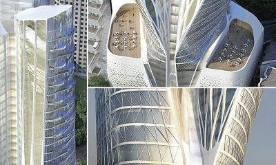 طراحی بینظیر هتل فرشته در تهران