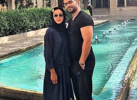 بیوگرافی حدیثه تهرانی ، عکس های حدیثه تهرانی در کنار همسرش