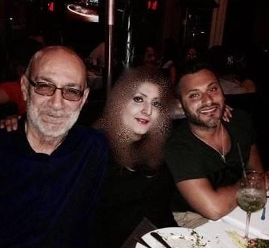 سیاوش قمیشی درگذشت + همسرش و فرزندش