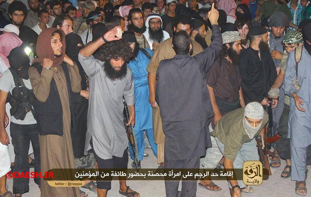 سنگسار و جنایات داعش