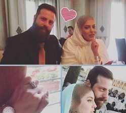 جفت گیری زن بازیگر زن کشورمان ازدواج کرد + عکس مراسم
