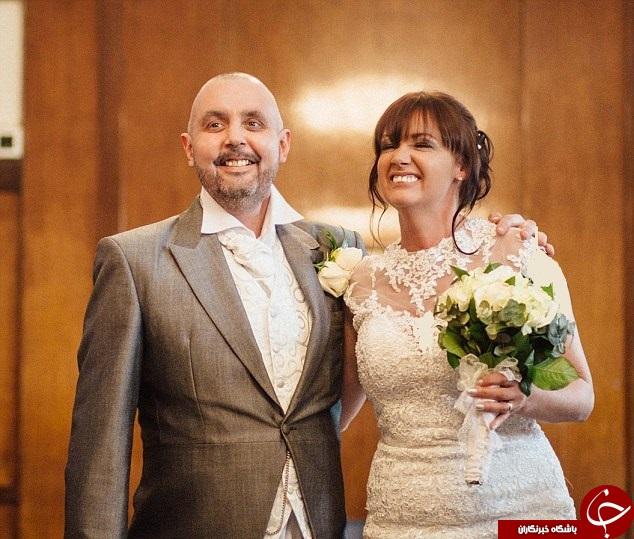 کچل کردن عروس در مراسم عروسی +تصاویر