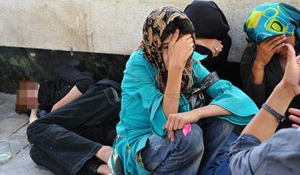 کارتن خوابی زنان ایران