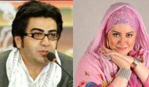 مسخره کردن جدید فرزاد حسنی این بار نعیمه نظام دوست