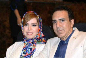 عکسهای مزدک میرزایی مجری تلویزیون بغل همسرش
