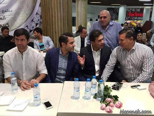 جشن تولد احمدرضا عابدزاده در رستوران علی دایی+ تصاویر
