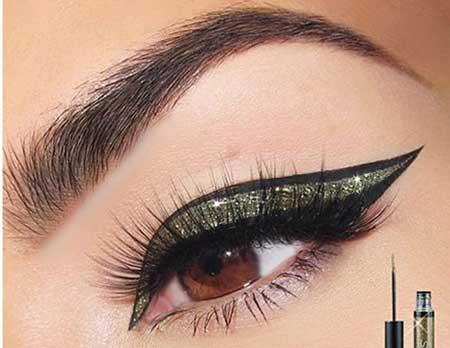 خط چشم زیبا وجالب,خط چشم متفاوت و زیبا