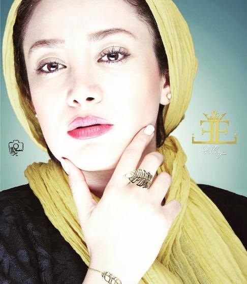 عکس بهاره افشاری به عنوان مدل تبلیغاتی