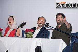 عکس های دیدنی از کنفرانس خبری عوامل فیلم فروشنده