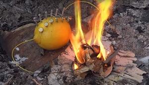 چطور با لیمو آتش درست کنیم ؟!