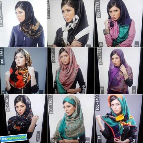 نیلوفر بهبودی زیباترین دختر ایران + عکس