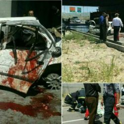 مرگ غم انگیز ۳ دانشجوی دختر قزوینی +۱۸