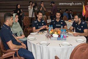 تصاویر اختصاصی سیمرغ از ستاره های والیبال ایران و همسرانشان