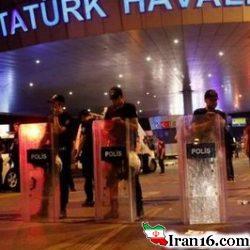 حادثه فرودگاه استانبول ۱۸۳ نفر کشته و زخمی + عکس و فیلم