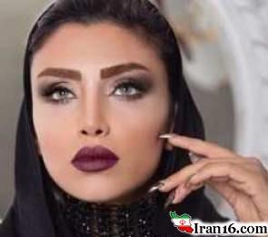 عکس دیده نشده از الهام عرب قبل و بعد از مدل شدن