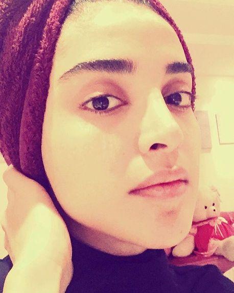 صورت بدون آرایش الهه حصاری + عکس 95