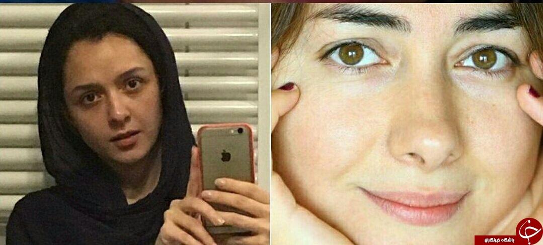 لادن طباطبایی به چالش انتشار عکس بدون آرایش پیوست +عکس