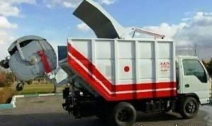 نجات کودک قبل از له شدن داخل کامیون زباله