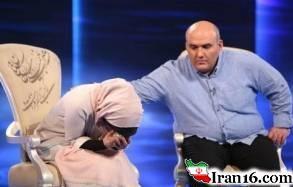فیلم اشک های پرستو صالحی در برنامه ماه عسل