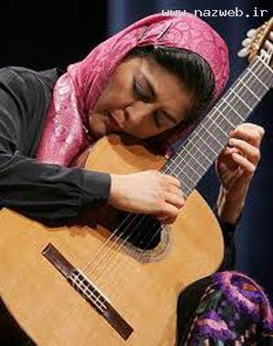 تنها زن ایرانی دارنده دکترای گیتار دنیا (عکس)
