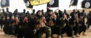 زن تن فروش در بغل خلیفه داعش در کلوپ + عکس