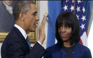عکس های دیدنی سالگرد ازدواج باراک و میشل اوباما