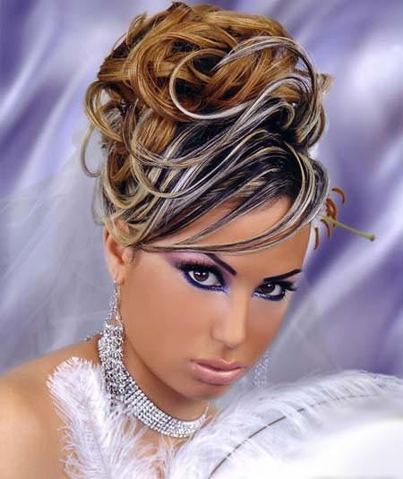 عکسهای جدید از مدل آرایش عروس خلیجی