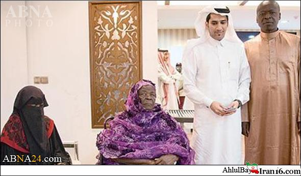 مادربزرگ «باراک اوباما» هم به مکه رفت + عکس