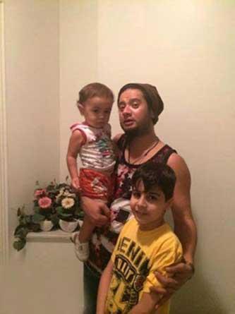 عکس دیدنی خانوادگی علی صادقی