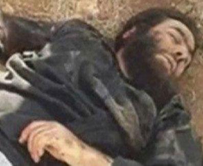 فوری- انتشار عکس جنازه خلیفه داعش ؟