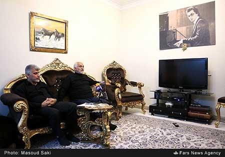 اوضاع خانه زنده یاد پاشایی +تصاویر
