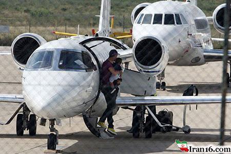هواپیمای شخصی کریستیانو رونالدو + عکس