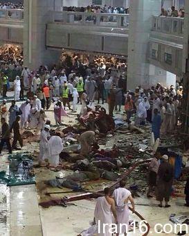 کشته های حادثه مسجدالحرام / 22 ایرانی در میان زخمی ها