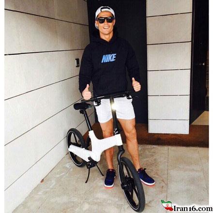 دوچرخه جالب و خفن کریس رونالدو (+عکس)