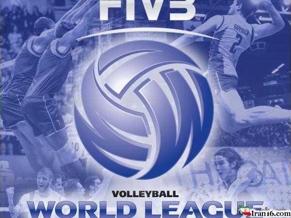 """برنامه کامل بازیهای ایران در """"لیگ جهانی والیبال 2016"""""""