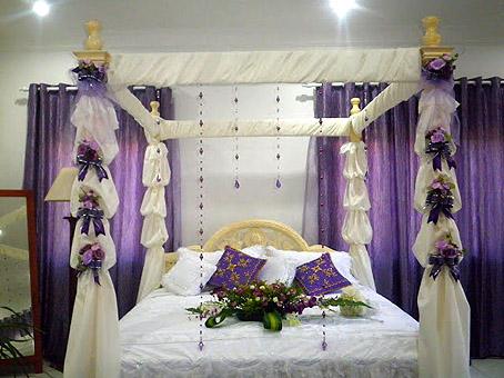 مدل تزیین اتاق خواب عروس و داماد