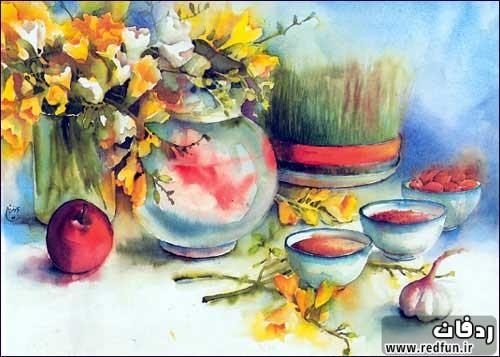 اس ام اس تبریک عید نوروز ۹۴