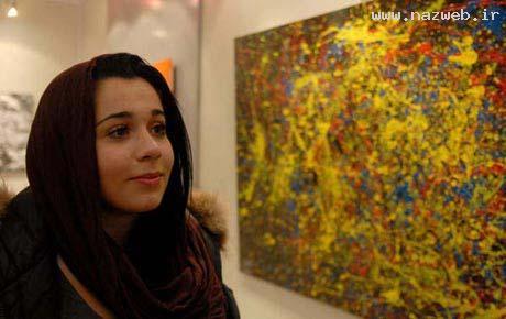 عکس بی سانسور دختر جذاب و نابغه ایرانی