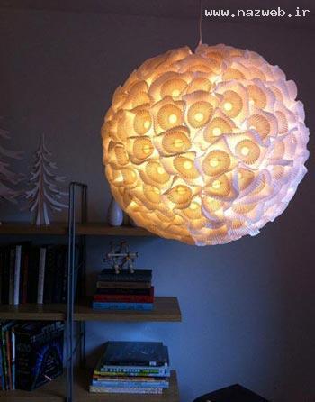 آموزش تصویری ساخت چراغ خواب