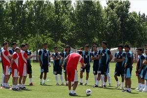 تسلیت ملیپوشان فوتبال ایران برای درگذشت مرتضی پاشایی