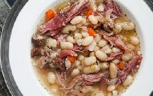 دستور تهیه سوپ لوبیا و گوشت