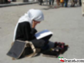 عکس تاسف بــار و درد آور یک دانشجوی دختـر