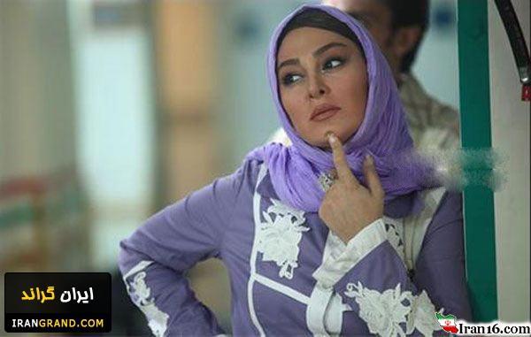 عکس جدید الهام حمیدی با لباس تو خونه !!