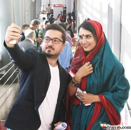 سلفی لورفته با بازیگر زن هندی در تهران + عکس !