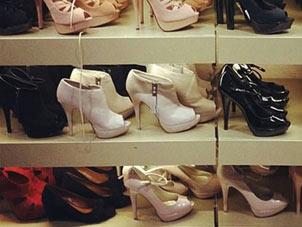 کفش,کفش پاشنه بلند,عوارض کفش پاشنه بلند
