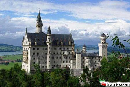 عکسهای زیباترین قلعه های دنیا