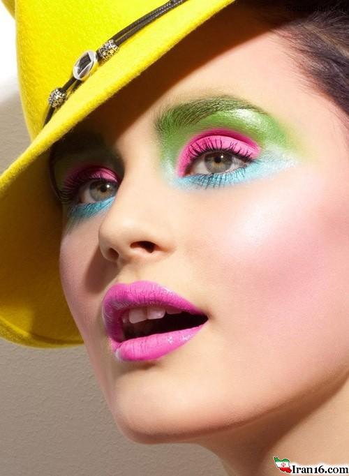 جدیدترین مدل آرایش صورت و میکاپ صورت ۲۰۱۵