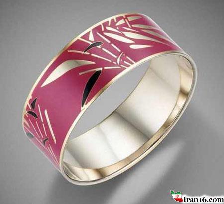 دستبندهای طلا و جواهرات سال 2015