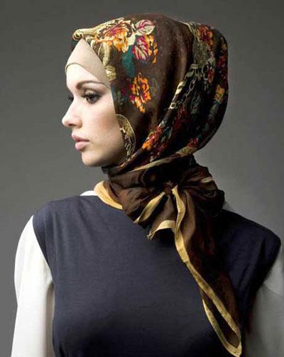 12 مدل بستن شال و روسری