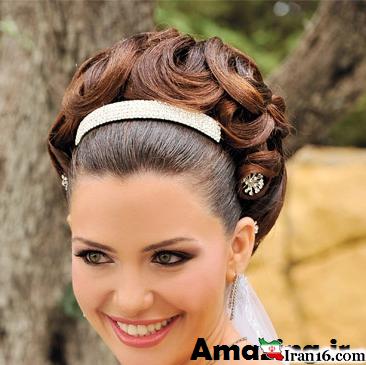 سری جدید مدل مو و آرایش عروس ۲۰۱۴